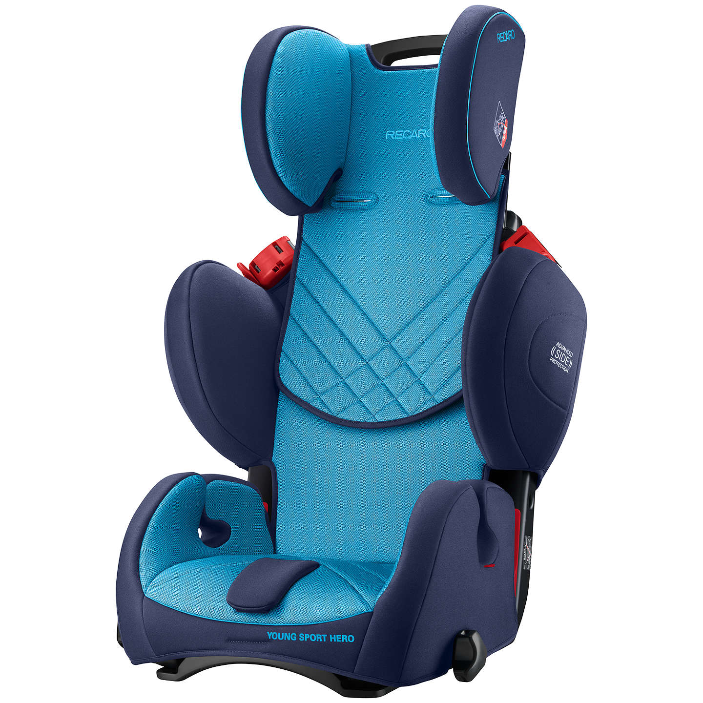 recaro young sport hero group 1 2 3 car seat xenon blue. Black Bedroom Furniture Sets. Home Design Ideas