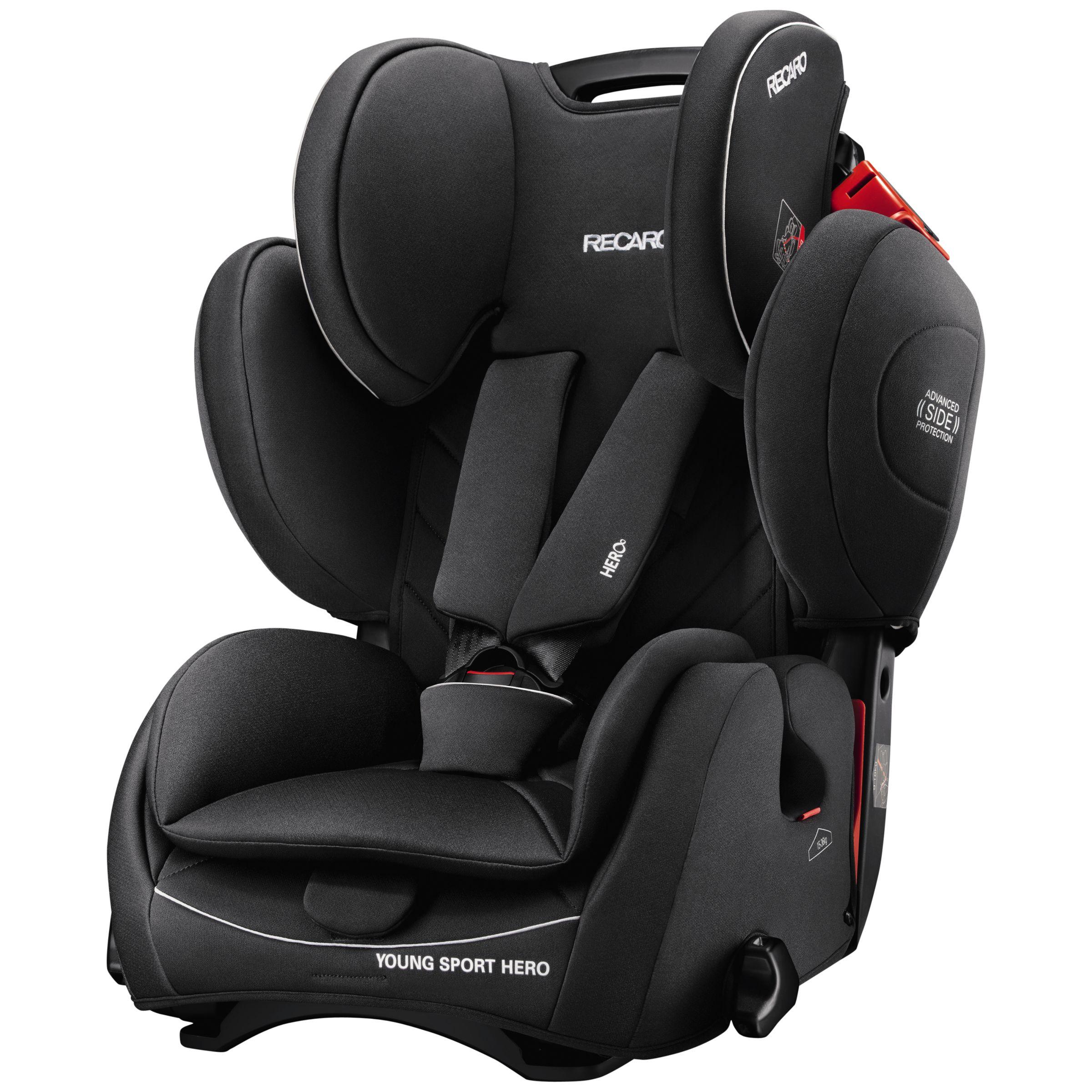 Recaro Hero Car Seat Black