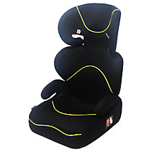 Buy John Lewis High-Back Group 2/3 Booster Car Seat, Black Online at johnlewis.com