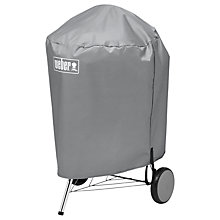 Buy Weber® 7451 Vinyl BBQ Cover for 57cm Kettles, Blue Online at johnlewis.com