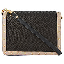 Buy Dune Davinia Stud Across Body Bag Online at johnlewis.com