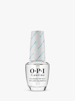 OPI Plumping Volumizing Top Coat, 15ml