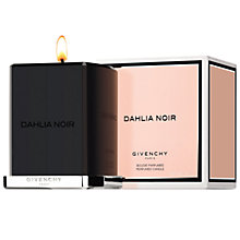 Buy Givenchy Dahlia Noir Candle, 400g Online at johnlewis.com