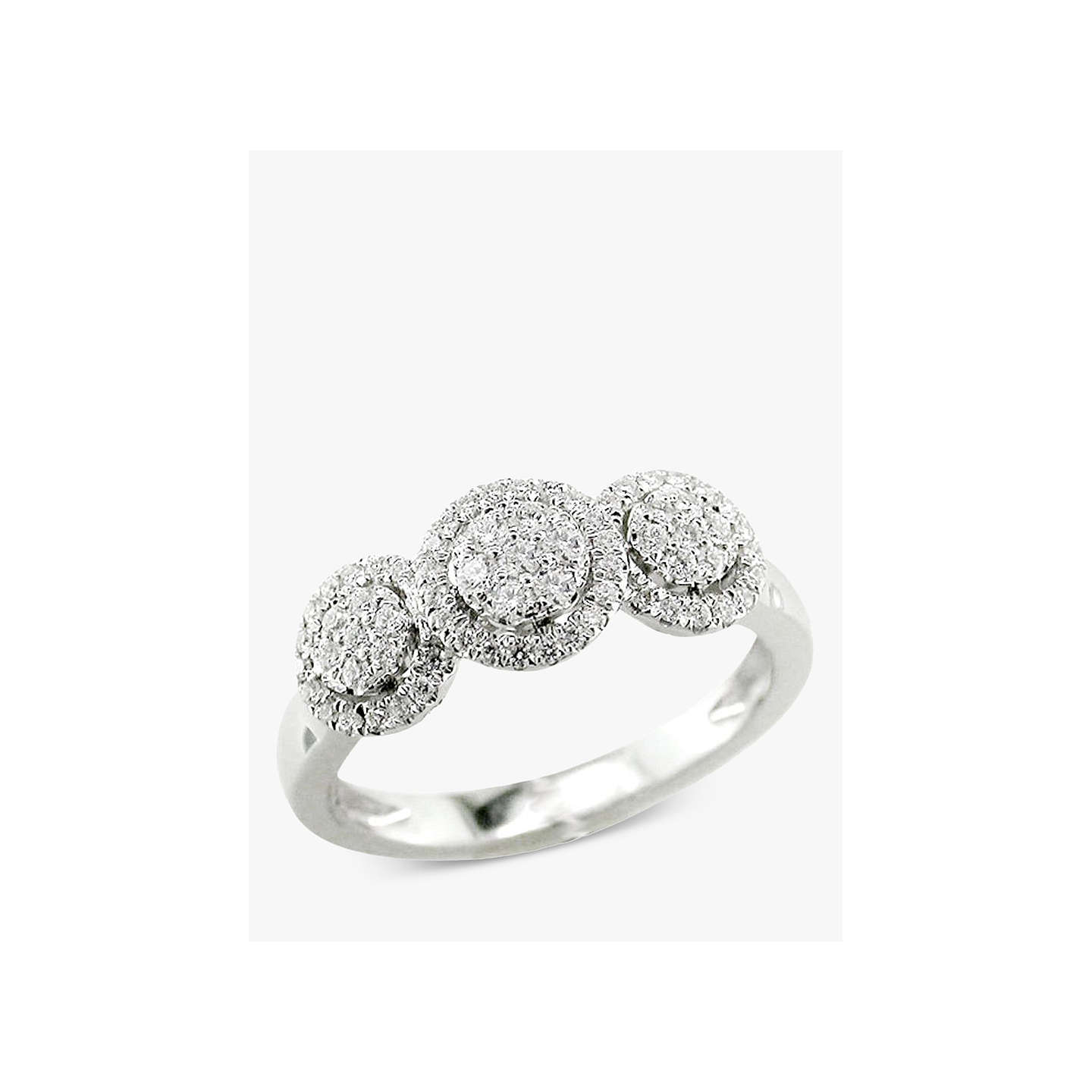 samuel cluster h ring halo diamond silver argentium product webstore wedding rings d number