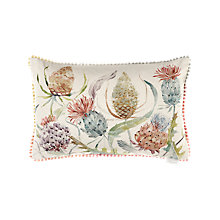 Buy Voyage Thistle Cushion, Autumn Online at johnlewis.com