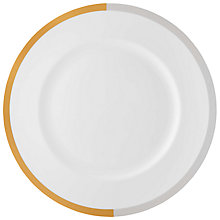 Buy Vera Wang for Wedgwood Vera Castillon 27cm Dinner Plate Online at johnlewis.com