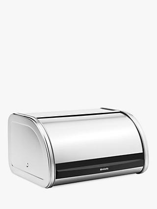 Brabantia Roll Top Bread Bin, Medium