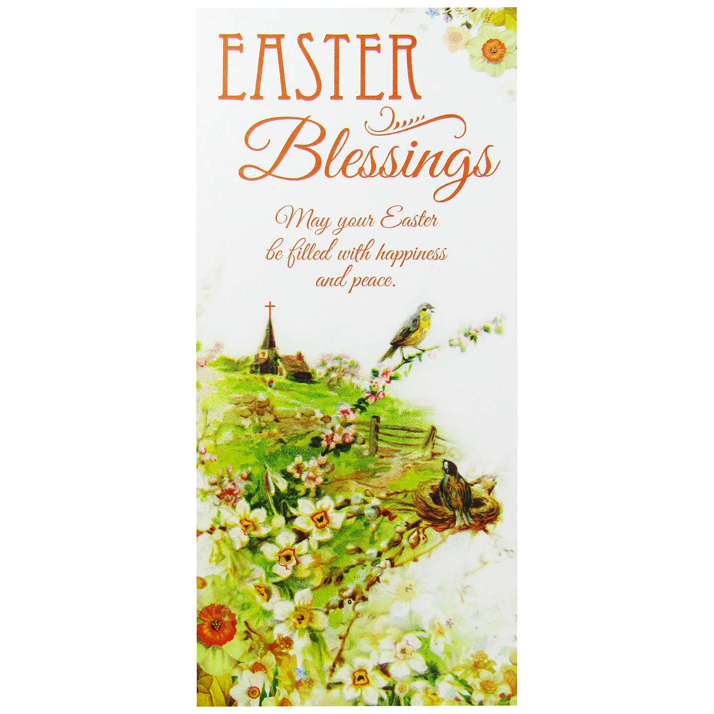 Paper Rose Church Easter Greeting Cards Pack Of 3 At John Lewis