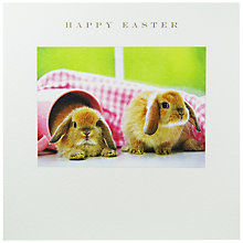 Buy Susan O'Hanlon Bunnies Easter Greeting Card Online at johnlewis.com
