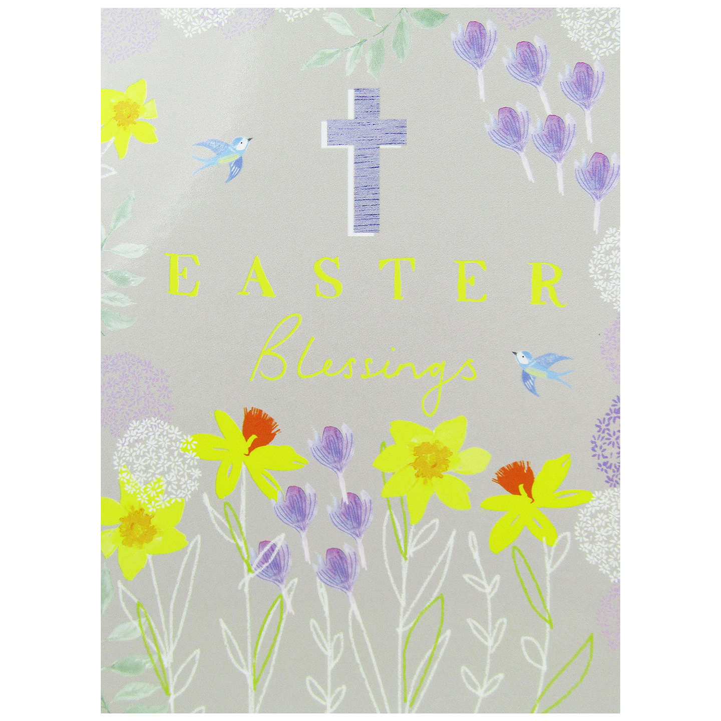 Woodmansterne cross traditional easter greeting cards pack of 4 at buywoodmansterne cross traditional easter greeting cards pack of 4 online at johnlewis m4hsunfo
