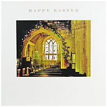 Buy Susan O'Hanlon Church At Easter Greeting Card Online at johnlewis.com