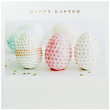Buy Susan O'Hanlon Sequined Eggs Easter Greeting Card Online at johnlewis.com