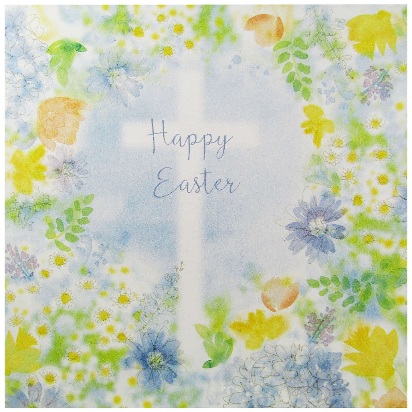 Saffron Cards And Gifts Happy Easter Greeting Card At John Lewis