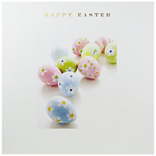 Buy Susan O'Hanlon Painted Eggs Easter Greeting Card Online at johnlewis.com