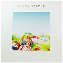 Buy Susan O'Hanlon Coloured Eggs Easter Greeting Card Online at johnlewis.com