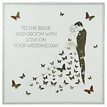 Buy Five Dollar Shake Bride And Groom Wedding Greeting Card Online at johnlewis.com