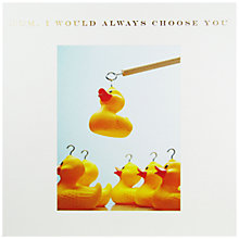 Buy Susan O'Hanlon Duck On Hook Mother's Day Card Online at johnlewis.com