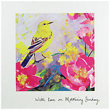 Buy Woodmansterne Yellow Bird Mother's Day Card Online at johnlewis.com