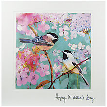 Buy Woodmansterne Birds On Hydrangea Branch Mother's Day Card Online at johnlewis.com
