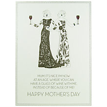 Buy Five Dollar Shake Mum, It's Nice Mother's Day Card Online at johnlewis.com