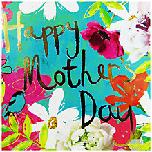 Buy Hammond Gower Gold Floral Mother's Day Card Online at johnlewis.com