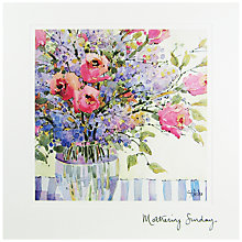 Buy Woodmansterne Pink And Lilac Flowers Mother's Day Card Online at johnlewis.com