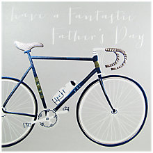 Buy Belly Button Designs Bike Father's Day Card Online at johnlewis.com