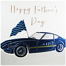 Buy Belly Button Designs Car Father's Day Card Online at johnlewis.com