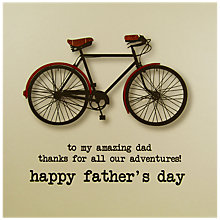Buy Five Dollar Shake Amazing Dad Father's Day Card Online at johnlewis.com