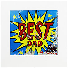 Buy James Ellis Stevens Best Dad Father's Day Card Online at johnlewis.com