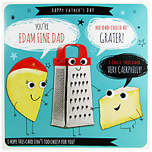 Buy Paperlink Cheesy Father's Day Card Online at johnlewis.com