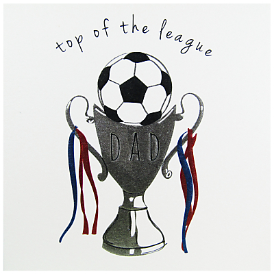 Belly Button Designs Top Of The League Father's Day Card