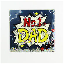 Buy James Ellis Stevens No.1 Dad Father's Day Card Online at johnlewis.com