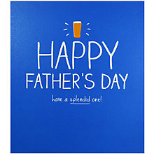 Buy Happy Jackson Splendid One Father's Day Card Online at johnlewis.com