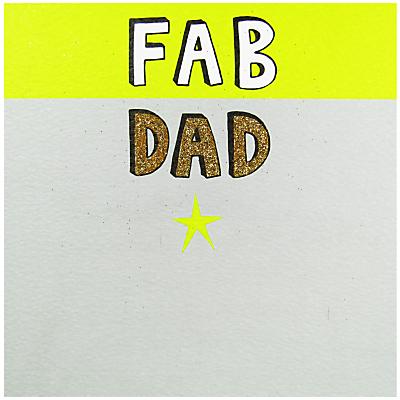 Rachel Ellen Fab Dad Father's Day Card
