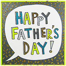 Buy Rachel Ellen Happy Father's Day Card Online at johnlewis.com