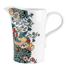 Buy Morris & Co Strawberry Thief 3pt Jug Online at johnlewis.com