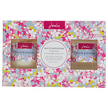Buy Joules Home Fragrance Gift Set, White Blossom Online at johnlewis.com