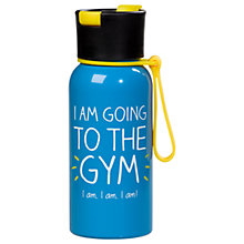 Buy Happy Jackson Going Gym Water Bottle Online at johnlewis.com