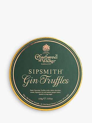 Charbonnel et Walker Sipsmith Gin Truffles, 110g