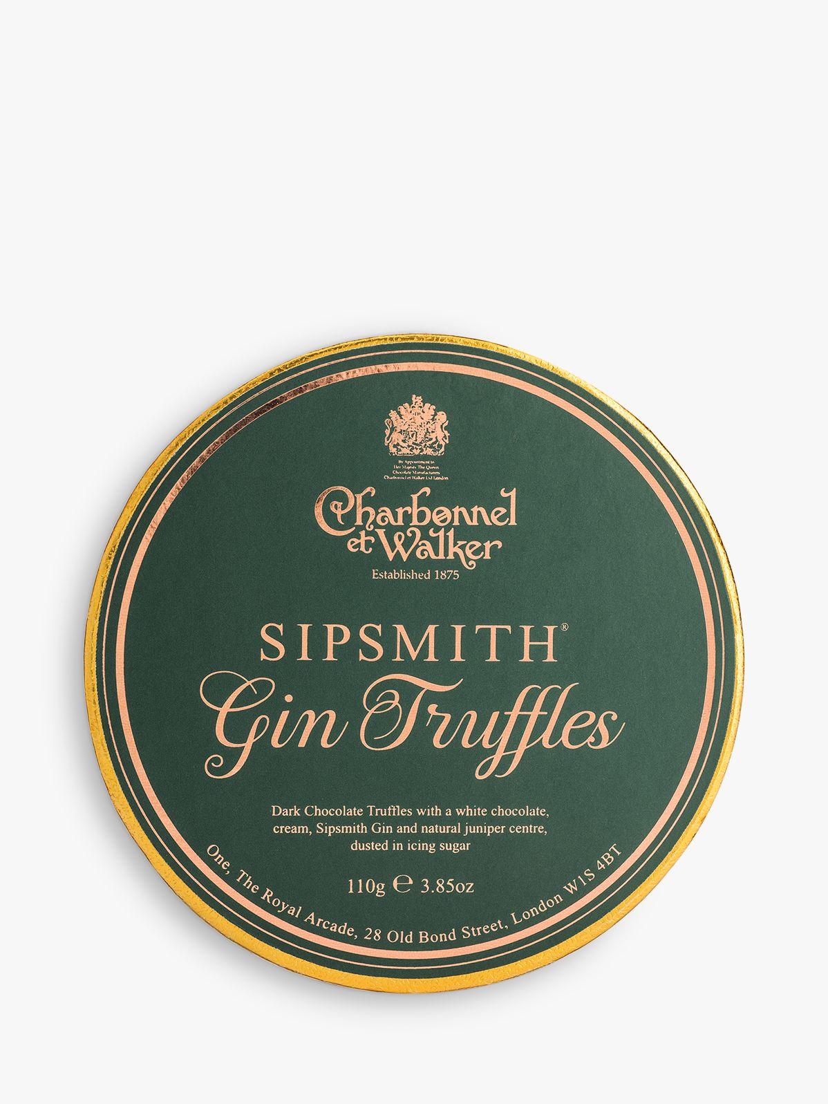 Charbonnel et Walker Charbonnel et Walker Sipsmith Gin Truffles, 110g