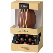 Buy Hotel Chocolat Hard Boiled 'Salted Caramel' Easter Egg, 190g Online at johnlewis.com