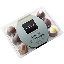 Buy Hotel Chocolat 'A Dozen Quail Egglets', 145g Online at johnlewis.com