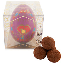 Buy Prestat Paper Easter Egg with Pecan Praline Truffles, 75g Online at johnlewis.com
