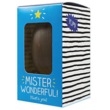 Buy Happy Jackson 'Mister Wonderful' Milk Egg, 120g Online at johnlewis.com