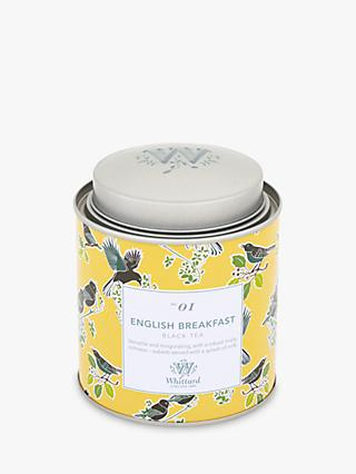 Whittard English Breakfast Loose Leaf Tea & Caddy, 140g