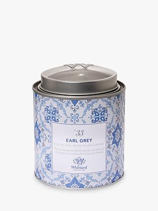 Whittard Earl Grey Loose Leaf Tea & Caddy, 100g