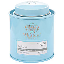 Buy Whittard Goji Acai Loose Leaf Green Tea & Caddy, 40g Online at johnlewis.com