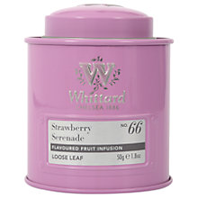 Buy Whittard Strawberry Serenade Loose Leaf Tea & Caddy, 50g Online at johnlewis.com