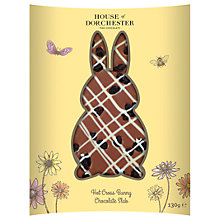 Buy House of Dorchester Hot Cross Bunny Milk Chocolate Slab, 130g Online at johnlewis.com